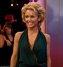 Kelly Carlson at the eTalk Festival Party, during the Toronto International Film Festival