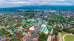 Eagle eye view of Cotabato City