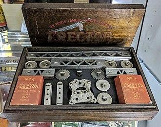 Erector Set - An early Erector set