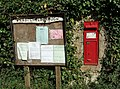 East Chelborough Victorian Postbox and Noticeboard - geograph.org.uk - 405884.jpg