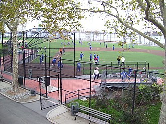 East River Park - Image: East River Park playing fields