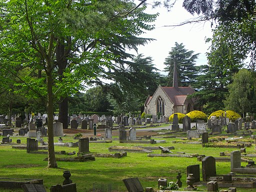 East Sheen cemetery