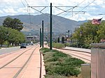 East along tracks from Fairpark station, Aug 15.jpg