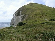 East end of Bindon Hill from Arish Mell gap - geograph.org.uk - 222057.jpg