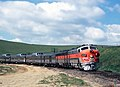 Eastbound California Zephyr on Altamont Pass, 1970.jpg
