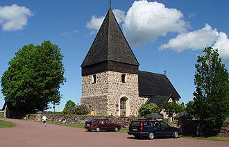 Eckerö - Eckerö Church in July 2004
