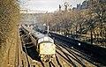 Edinburgh, Princes Street Gardens, with a westbound Diesel-hauled express - geograph.org.uk - 2239878.jpg