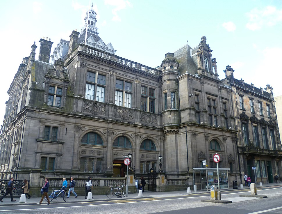 Edinburgh Central Library, George IV Bridge