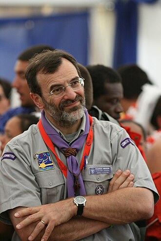 Eduardo Missoni - Eduardo Missoni at the 21st World Scout Jamboree.