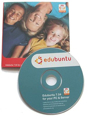 Edubuntu - Edubuntu 7.04 package