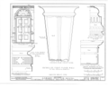 Edward Dexter House, 72 Waterman Street (moved from George Street), Providence, Providence County, RI HABS RI,4-PROV,23- (sheet 20 of 53).png