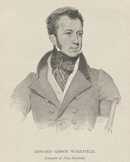 Edward Gibbon Wakefield English statesman and colonial theorist