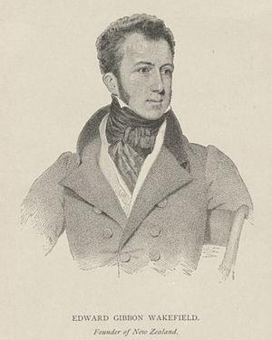 Edward Gibbon Wakefield (* 1796; † 1862), Brit...