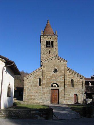 First Romanesque - Saint Egidio in Fontanella, Lombardy