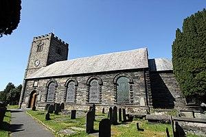Dolgellau - Image: Eglwys y Santes Fair (St Marys Church), Dolgellau (geograph 4449558)