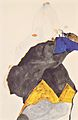 Egon Schiele - Mädchen mit erhobenen Ellbogen - 1911.jpeg