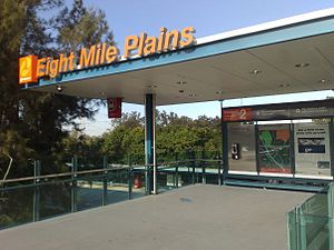 Eight Mile Plains busway station - Image: Eight mile plains busway