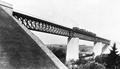 Eisenbahnviadukt Zazenhausen Belastungsprobe 1896.png