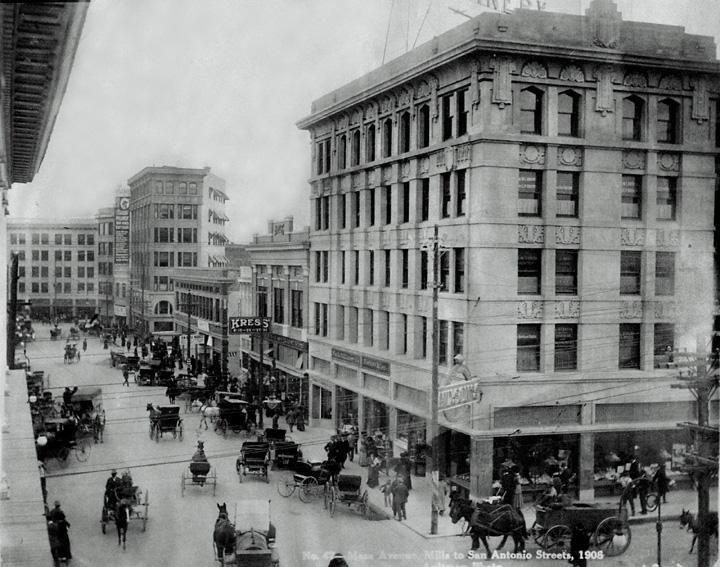 El Paso Downtown 1908