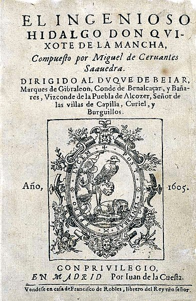 File: The ingenious gentleman Don Quijote de la Mancha.jpg