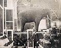 Elephant made from Almonds in the California exhibit of the Palace of Horticulture at the 1904 World's Fair.jpg