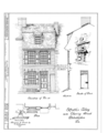 Elfreth's Alley (Houses), Philadelphia, Philadelphia County, PA HABS PA,51-PHILA,272- (sheet 9 of 19).png