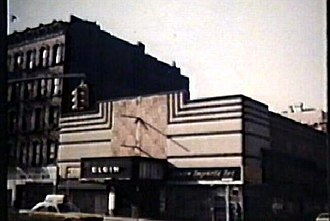 Elgin Theater - The Elgin Theater, before 1982