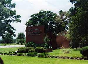 Texas Department of Criminal Justice - Ellis Unit, a prison that previously housed the male death row.