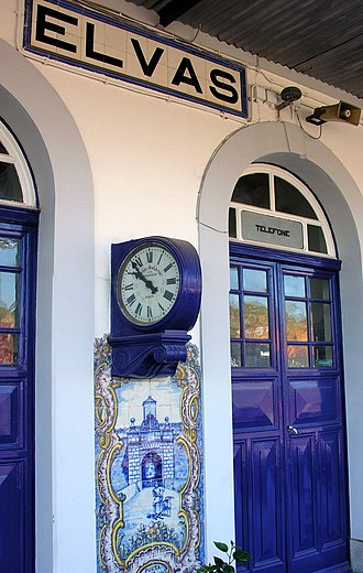 Elvas - Image: Elvas Station, Alentejo, Portugal