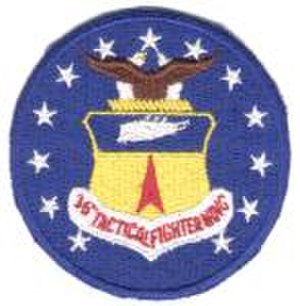 Fürstenfeldbruck Air Base - Image: Emblem of the 36th Fighter Wing (1950s)