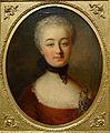 En-face portrait of a lady, artist unknown, c. 1760-1770, oil on canvas - Villa Vauban - Luxembourg City - DSC06464.JPG