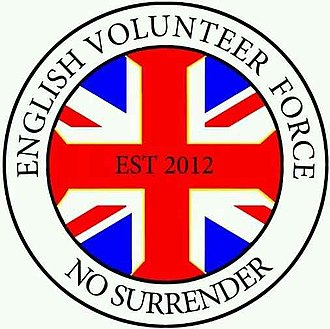 English Defence League - Logo of the English Volunteer Force