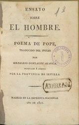 Alexander Pope: Ensayo sobre el hombre