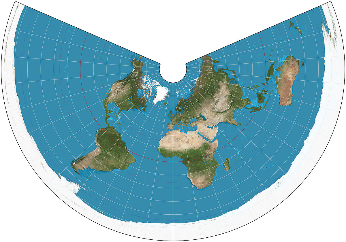 Equidistant conic projection   Wikipedia