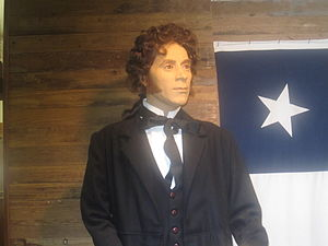 Deaf Smith - Deaf Smith as he appears at the Childress County Heritage Museum in Childress, Texas