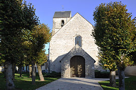 The church in Erceville