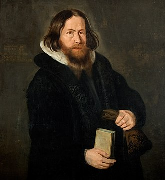 1641 in Norway - A 1641 portrait of Erik Iversen Nordal, painted by Elias Fiigenschoug