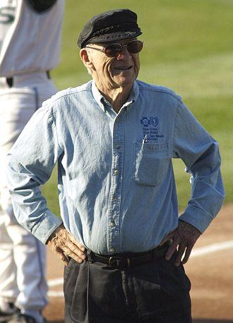 Ernie Harwell - Harwell in 2006.