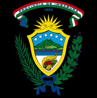 Imbabura Province - Image: Escudo Provincia Imbabura