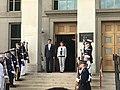 Esper with Defence Minister Kramp-Karrenbauer at the Pentagon.jpg
