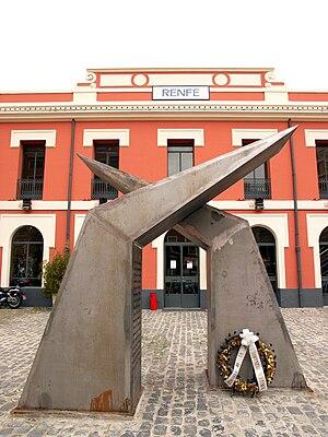 49th Mixed Brigade - Image: Estació de la RENFE de Xàtiva