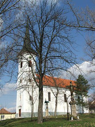 Szentgyörgymező - Image: Esztergom Szentgyorgymezei templom