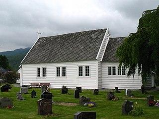 Grindheim Church (Vestland) Church in Vestland, Norway