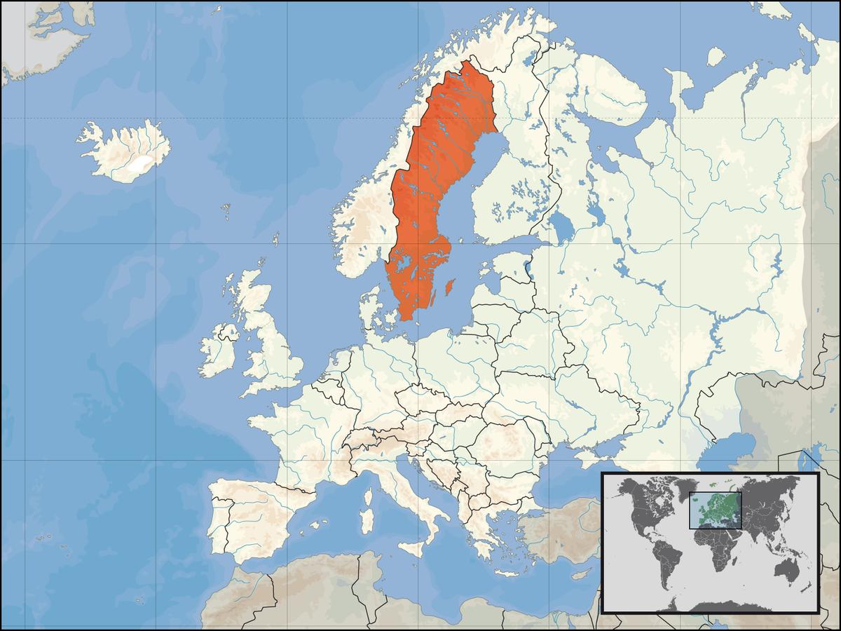 sveriges største byer