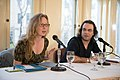 European Voices A Reading & Conversation with Christos Ikonomou and Karen Emmerich (26293099560).jpg