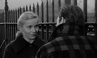 On the Waterfront - Eva Marie Saint as Edie Doyle, with Marlon Brando as Terry Malloy