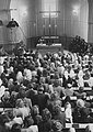 Evangelický kostel Jasenná, bohoslužby při otevření kostela po opravě, 1952 (Archiv ČCE) 2.jpg
