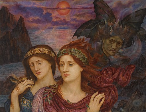 Evelyn de Morgan - The Vision, 1914