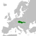 Expansion of the Czechoslovak Republic in the Hungarian-Romanian War in 1919 until the Treaty of Trianon.png