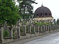 Exterior of Jewish Cemetery - Chernivtsi - Bukovina - Ukraine (26971067470) (2).jpg